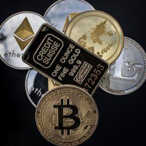 Unterschiedliche Kryptowährungen